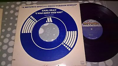 Carl Bean - I Was Born This Way - Motown Records - Usa - M 00008D1 - 12 Inch