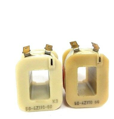 Lot Of 2 New Generic 56-4-Z-110-60 Coils 110V 60Hz 2-Terminal Contacts