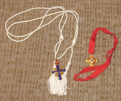 DeMolay Legion of Honor and Cross of Honor Medals