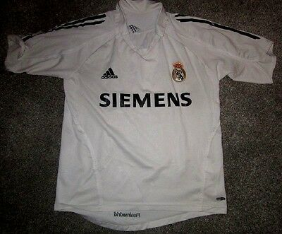 Rare Real Madrid 2005 - 06 *Robinho* Home Shirt Jersey Adult S