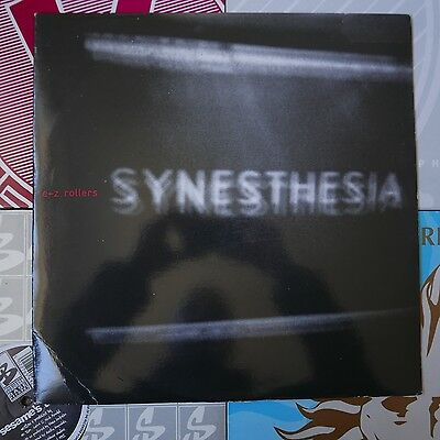 """Drum & Bass 12"""" E-Z Rollers Synesthesia Fever Moving Shadow110 1997 Adam F"""
