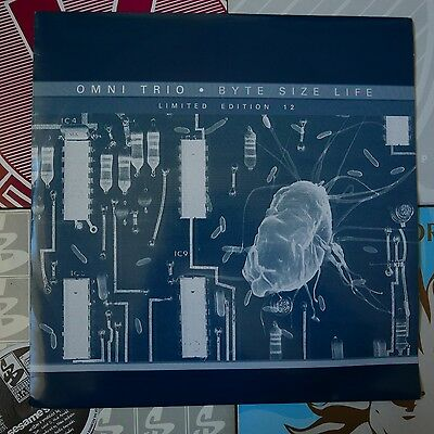 """Drum & Bass 12"""" Omni Trio Byte Size Life Ltd Moving Shadow 137 99 Source Direct"""