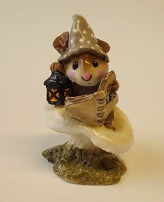Wee Forest Folk Mouse Figurine ELF TALES  M-163 Retired Miniature Animal