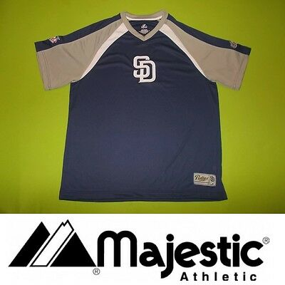 NEW Jersey SAN DIEGO PADRES (XL) MAJESTIC PERFECT !!! MLB