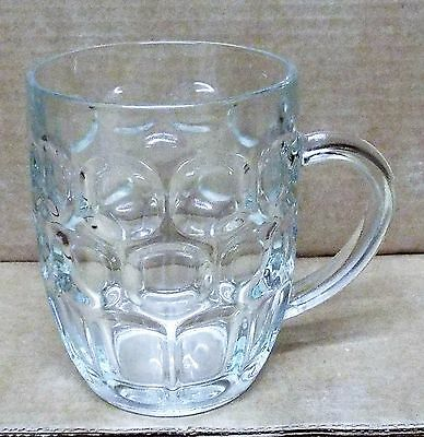 Ravenhead Pint Dimple Pot/Beer Glass with Handle. Drink / Alcohol.
