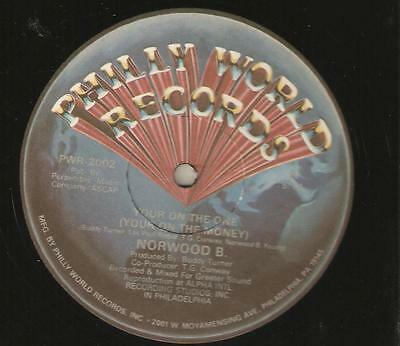 """Norwood B – Your On The One (Your On The Money). ( Vinyl 12"""") DISCO / FUNK"""