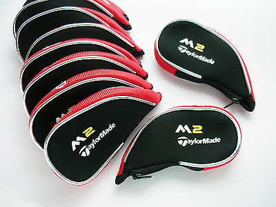 M2 Iron Covers Complete protection Golf Club Head Covers zipped