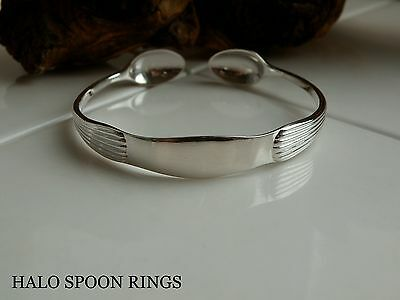 Beautiful Victorian Solid Silver Sugar Tong Bangle ** Ideal Mothers Day Gift **