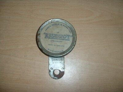 Tax Disc Holder - Made By Raydyot - Good Order. Vintage Car, Vintage Motorcycle
