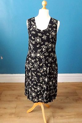 Vintage 80's Summer Dress Retro Boho 16