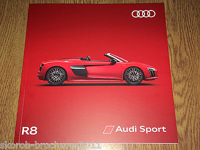 AUDI - The R8 Coupe & New R8 Spyder Sales Brochure 2017 Edition 2.0