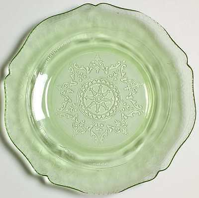 Federal Glass Company PATRICIAN GREEN Salad Plate 1754930