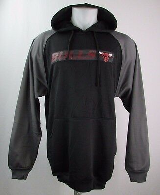 Chicago Bulls Men s Big   Tall MT Pullover Graphic Hoodie NBA Majestic Black fe907c180