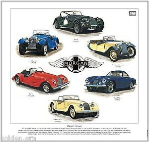 Classic Morgan 1912-2004---Car Art Print