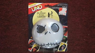 Sealed The Nightmare Before Christmas Uno Card Game Rare