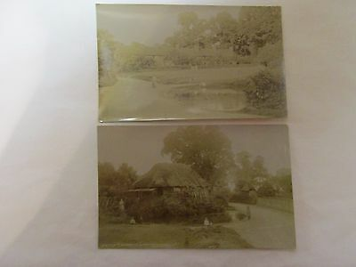2 old rp postcards  relating to great wymondley (unosted)