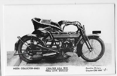 TRANSPORT - Pamlin print of Croydon - M2236 COLLECTOR BIKES - CHATER LEA 1912