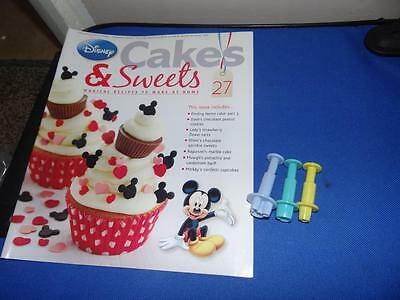 Disney Cakes & Sweets Magazine Issue #27 *With Free Gift*