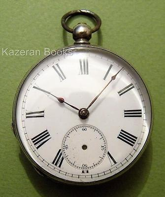 Antique Solid Silver Fob Pocket Watch