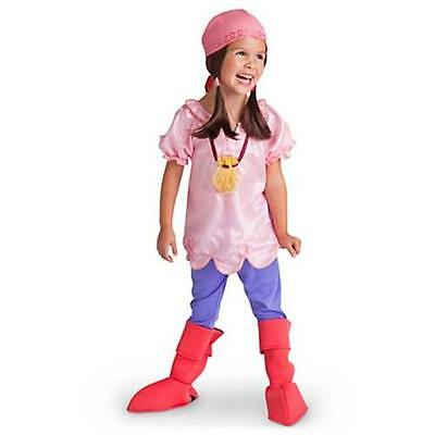 NEW DISNEY STORE Jake and the Never Land Pirates Izzy Costume Girls Dress up 2/3