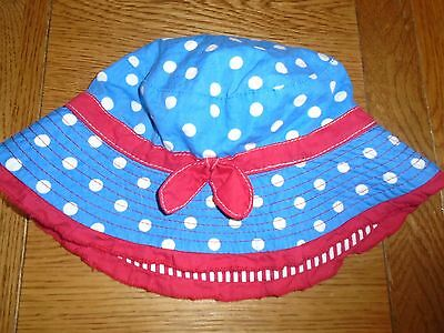 Girls Mothercare summer hat.  3-6 years