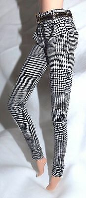 Bottom ~ Mattel Barbie Doll Model Muse Frank Sinatra Houndstooth Slacks Pants