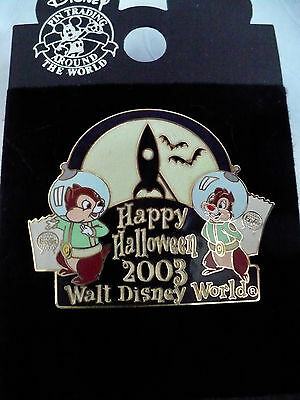 Walt Disney World Halloween 2003 Pin Chip and Dale LE 1500 with Free Shipping