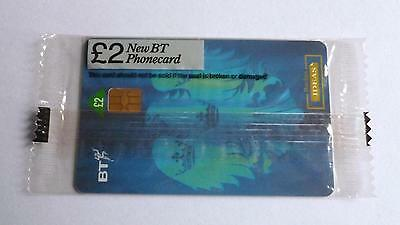 Bt Barclays Bank / Mint Sealed Phonecard
