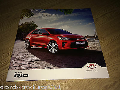KIA - The All-New Rio Sales Brochure 2017