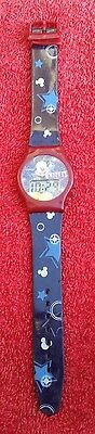 Official Disney Mickey Mouse Digital Wristwatch / Used Working Condition.