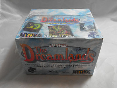 Mythos Ccg, The Dreamlands, Sealed Booster Box Of 36 Packs