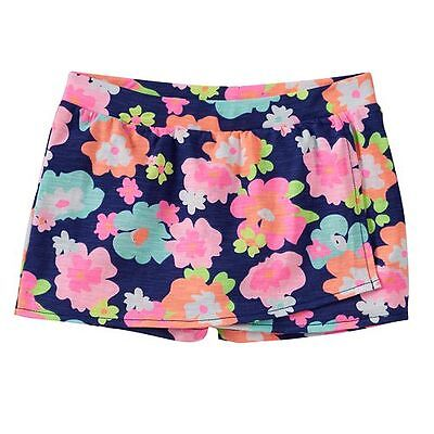 Jumping Beans Girl's Navy Flowers Skort Size 6 NWT Retail $16.00