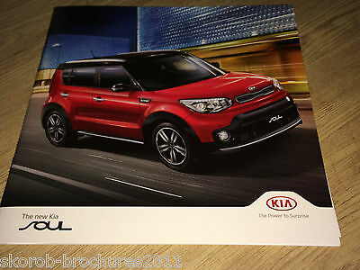 KIA - The New Soul Sales Brochure 2017