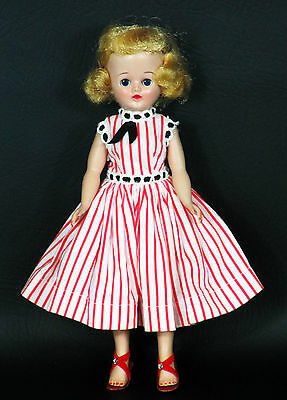 "Beautiful Vintage 1957 VOGUE Jill 10"" Doll in Tagged Outfit 7502 w Shoes Undies"