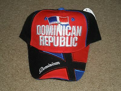 Brand New With Tag Adjustable Dominican Republic Hat Cap