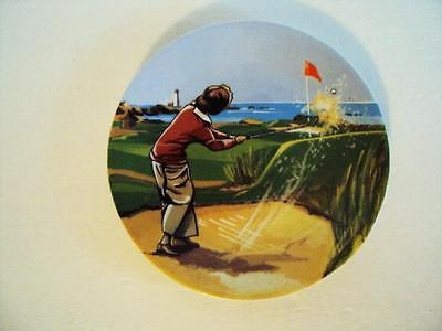 Limoges Collector Porcelain Golf Plate Philippe Deshoulieres Plate #15