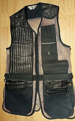 MINT Vintage Bob Allen Men's Sz M Shooting Hunting Game & Fishing Mesh Vest