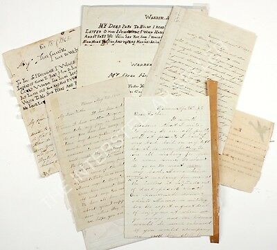 Group of 15 Antique c.1860's CIVIL WAR ERA LETTERS FROM YEAKLE SIBLINGS - FAMILY