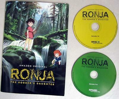 RONJA: THE ROBBER'S DAUGHTER Press Kit 13 Episodes on 2-Discs Gillian Anderson