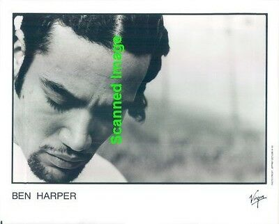 Press Photo: BEN HARPER 8x10 B&W 1993
