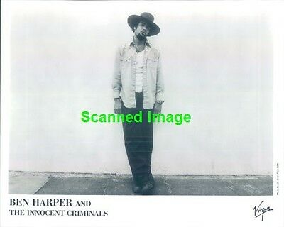 Press Photo: BEN HARPER 8x10 B&W 1999