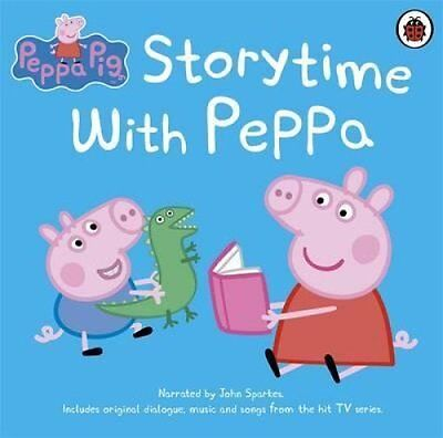 Peppa Pig: Storytime with Peppa by John Sparkes 9781409314417 (CD-Audio, 2013)