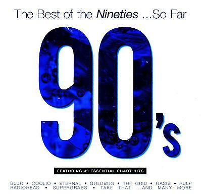 90's - THE BEST OF THE NINETIES ....so far / VARIOUS ARTISTS  -  2 CD SET