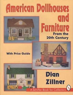 American Vintage Dollhouse & Furniture Guide 1900-1970s w Doll House Accessories