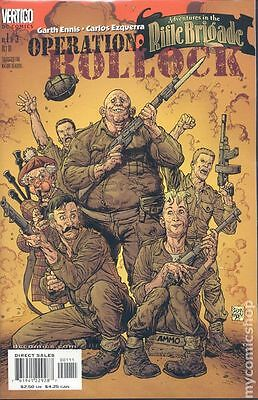 Adventures in the Rifle Brigade Operation Bollock (2001) #1 VF
