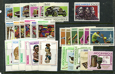 Mozambique 6 MNH Complete Issues