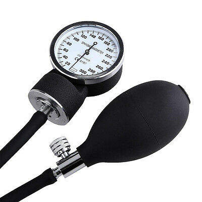 Black Blood Pressure Sphygmomanometer Rubber Adjustable Pump Bulb Ball