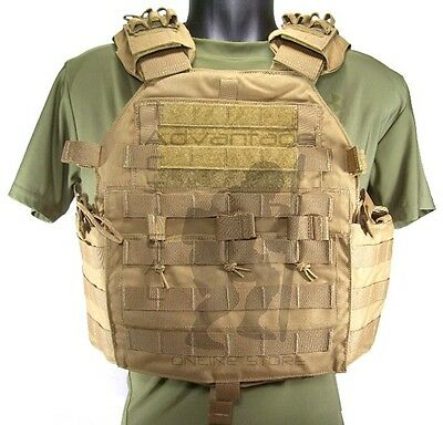 Eagle Industries MMAC Multi-Mission MOLLE Armor Plate Carrier LARGE coyote brown