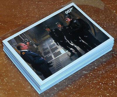James Bond Archives 2016 ~ THE LIVING DAYLIGHTS Throwback Insert Card Lot (36)