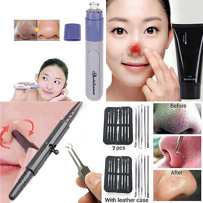 Beauty Blackhead Remover Cleaner Facial Pore Acne Cleanser Skin Cleansing Tool